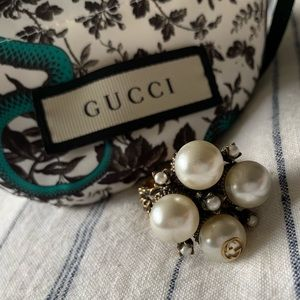 Gorgeous Gucci Ring Size 7